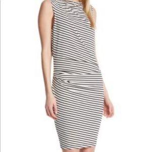 Robert Rodriguez Lydia sleeveless striped dress